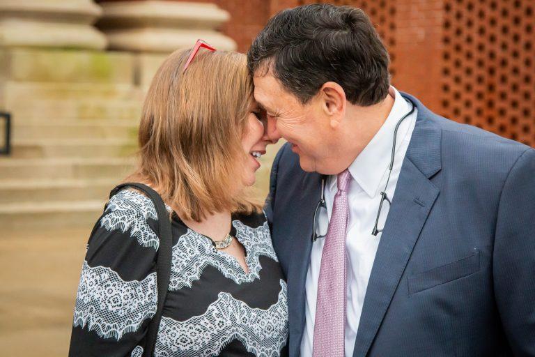 Lenn and Theresa